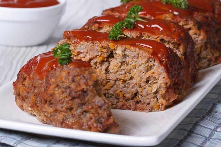 Applesauce chicken loaf