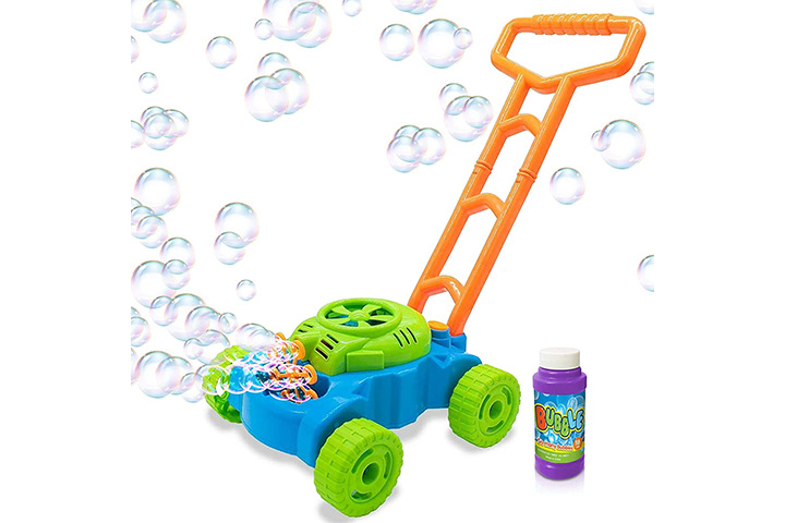 Art Creativity Bubble Lawn Mower