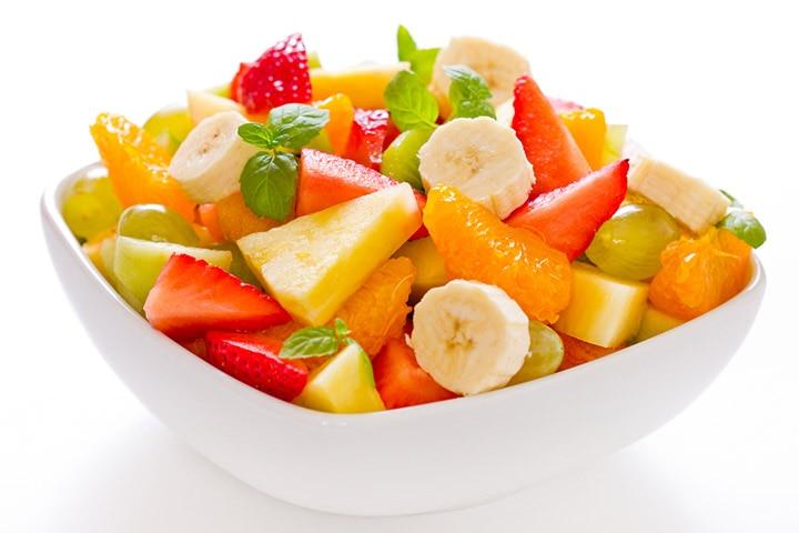 Assorted fruit salad