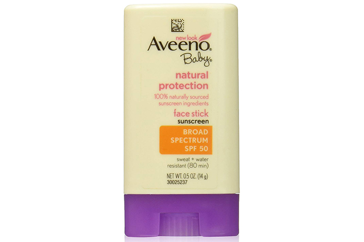 Aveeno Baby Natural Protection Face Stick Sunscreen