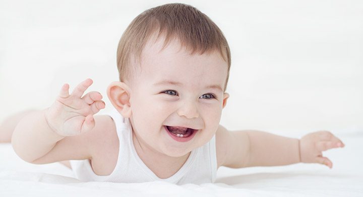 Pretty Baby Image Smiling