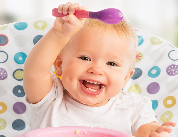Really Cute Babies Smiling Image