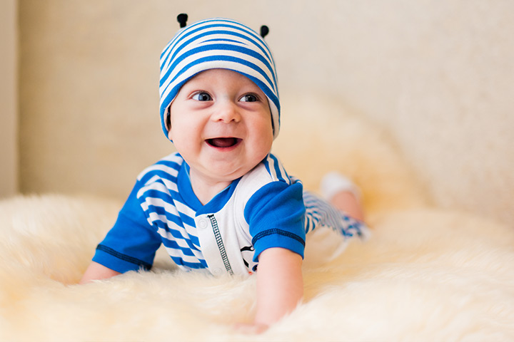 Cute smiling baby image