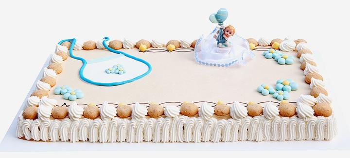 Bib Cake for Baby Shower