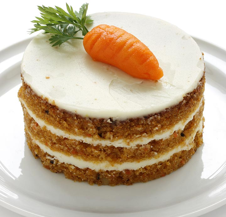Carrot, coconut and date cake