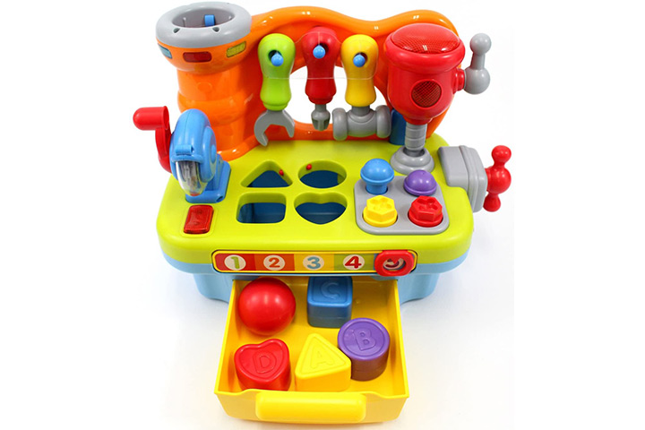 CifToys Musical Learning Workbench Toy