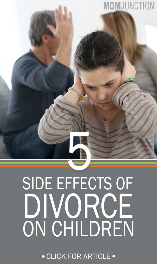 an essay about the effects of divorce on children Divorce is an unfortunate event for any family, particularly those with children studies have shown that approximately 25% of children whose parents divorce.