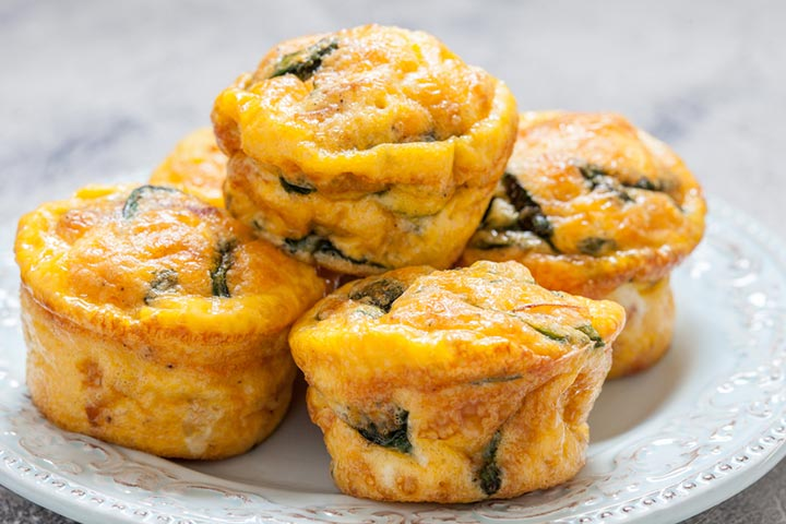 Egg and vegetable muffin