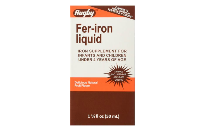 Fer-Iron Liquid Drops 2 - Iron Supplements Pictures