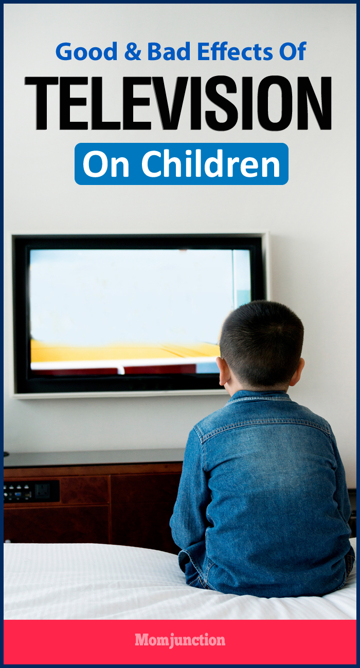 television effects on children essay Learn the good and bad effects of watching tv on your child's intellectual development.