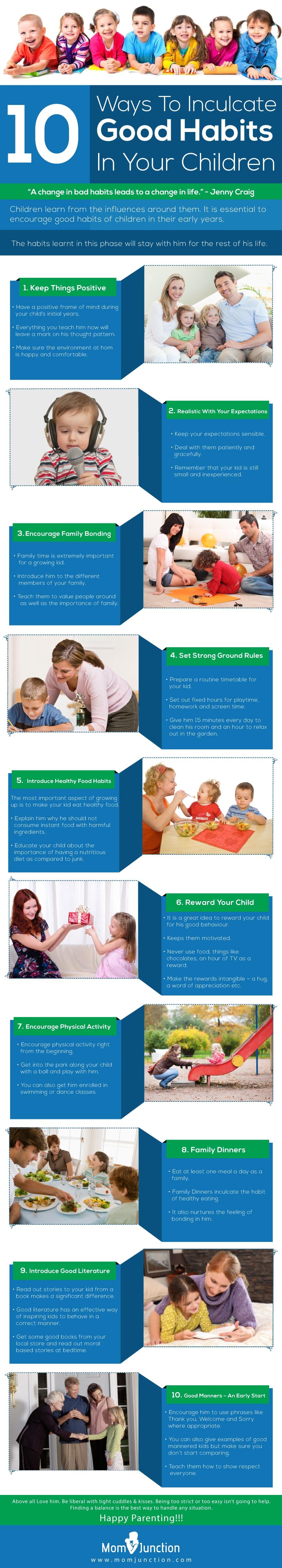 25 Ways To Inculcate Good Habits In Children