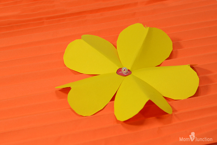 Heart Punch Flower Craft Images