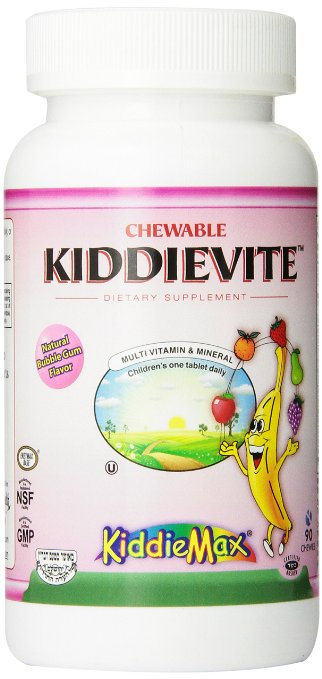 Maxi Health Chewable Kiddievite 4 - Iron Supplemts Pictures