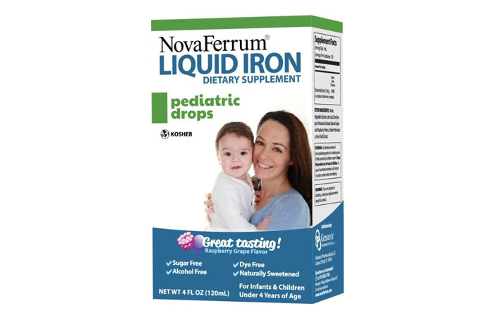NovaFerrum Pediatric Drops 1 - Best Iron Supplement Pictures