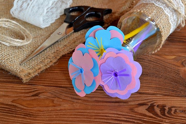 Paper Flower Bouquet Images