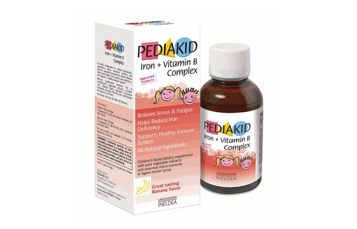 Pediakid Iron + Vitamin B Complex 8 Iron Supplement Pictures