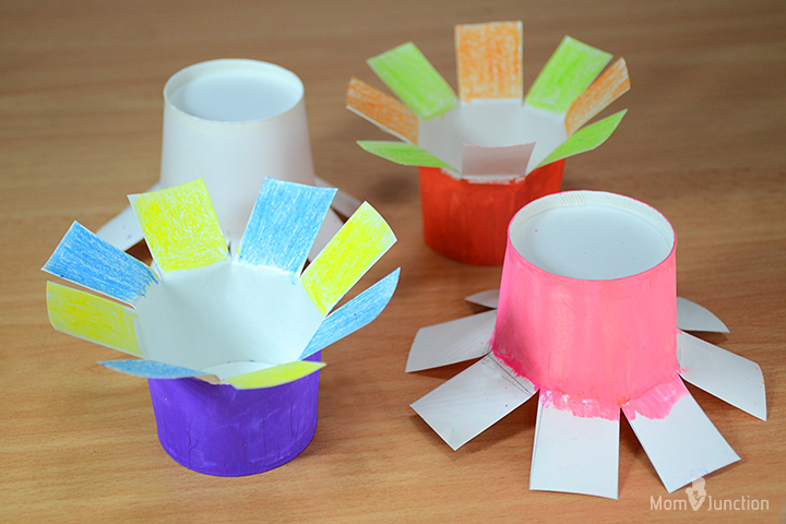 How to make paper flowers for kids pop out flowers mightylinksfo