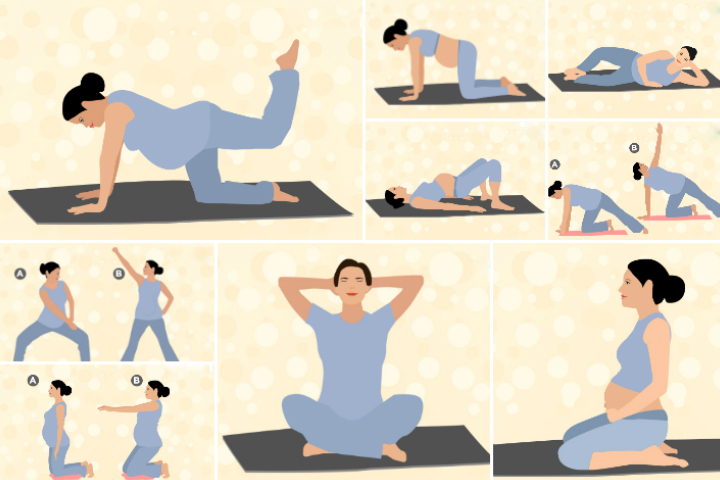 Pregnancy Pilates Exercises Safe For All Trimesters