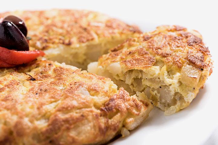 Egg Recipes For Kids - Spanish Omelet