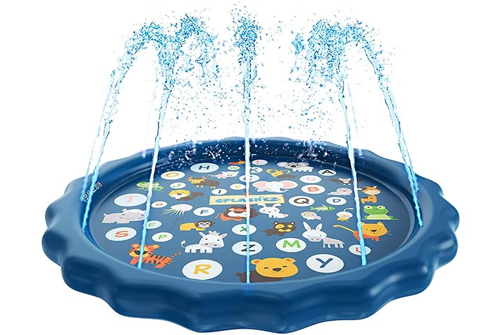 SplashEZ 3-in-1 Sprinkler, Splash Pad, and Wading Pool