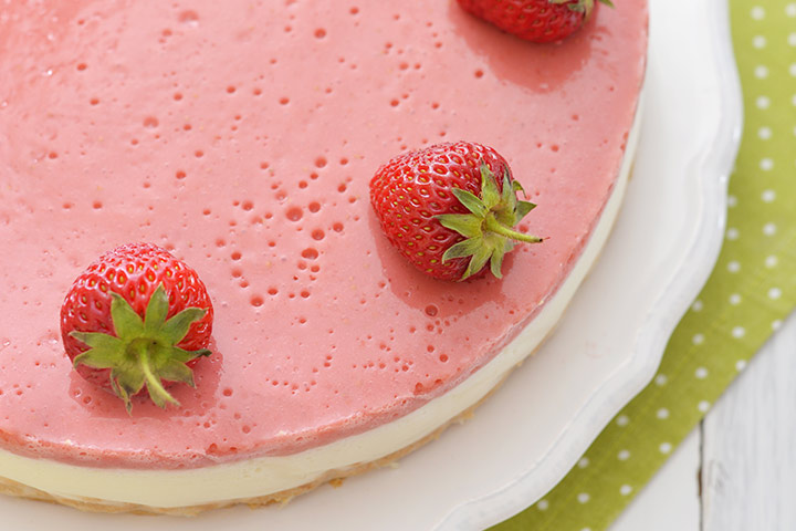 Baby Shower Strawberrilicious Cheesecake