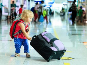 10 Useful Tips For Air Travel With Your Toddler