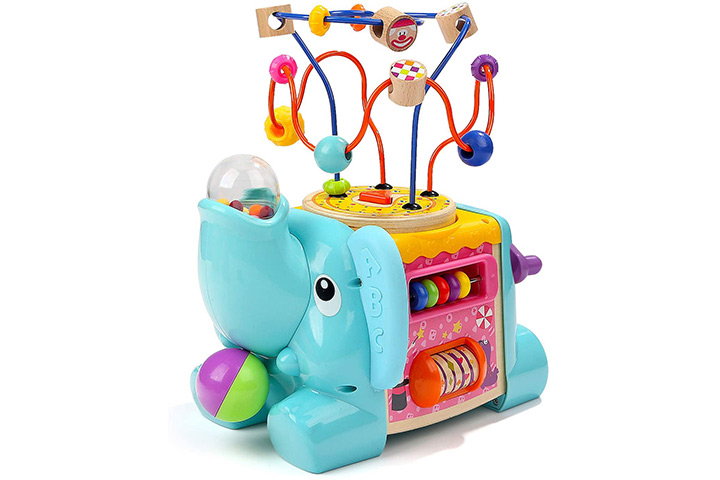 TopBright Toddler and Baby Activity Cube Toy