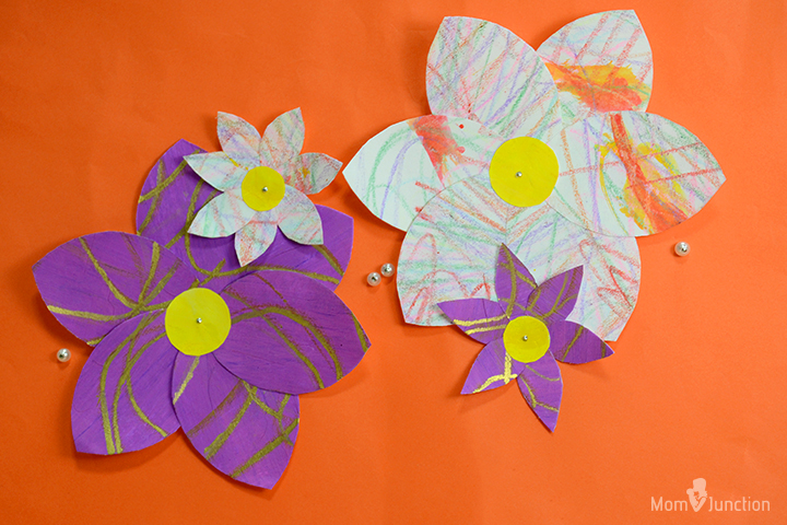 How to make paper flowers for kids how to make watercolor flowers images mightylinksfo