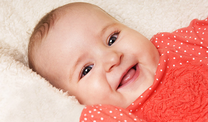 Smiling Baby Pics