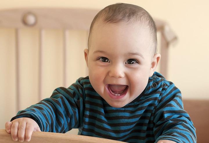 Babies Smiling Image