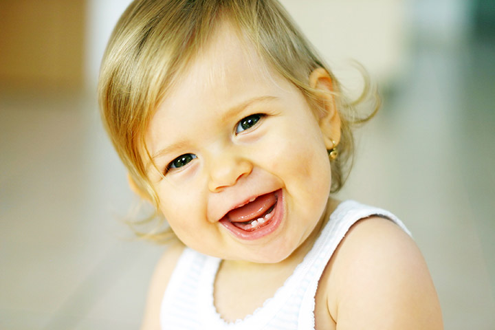 Adorable Smiling Baby Pic