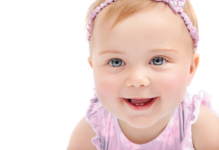 Cute Baby Girl Smiling Baby Picture
