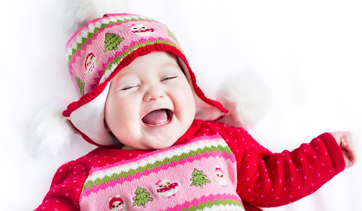 The Cutest Baby in the World Smiling Image