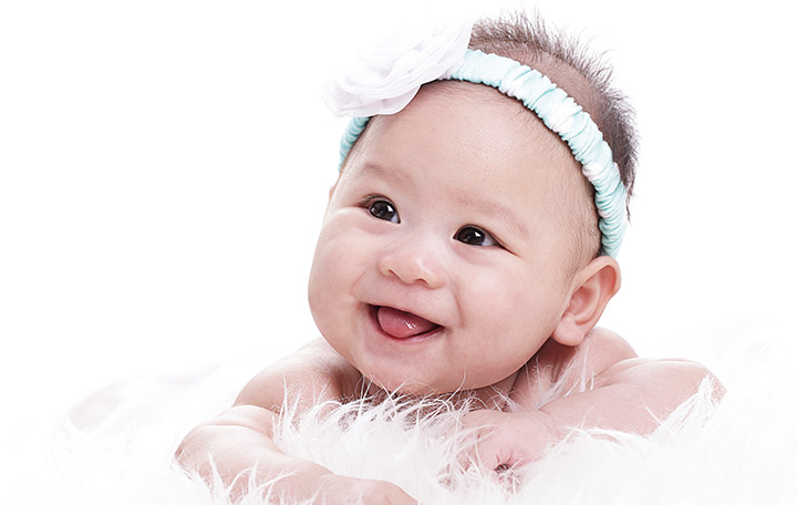 Cute Baby Girl Smiling Pics