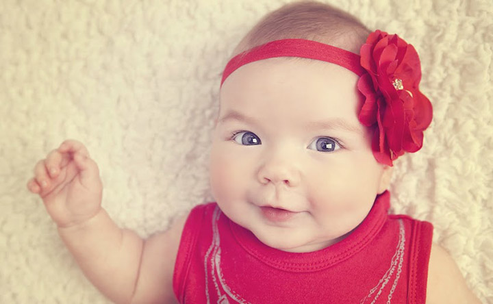 Best Smiling Pic of Baby Smiling with Adorable Expression