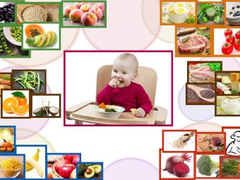 Top 30 Healthy Foods For Your Baby
