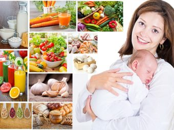 Breastfeeding Diet - 10 Best Foods For New Moms