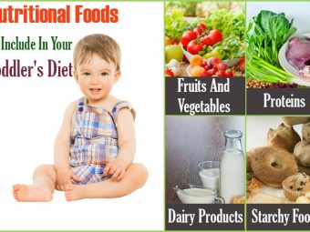 4 Nutritional Foods To Include In Your Toddler's Diet