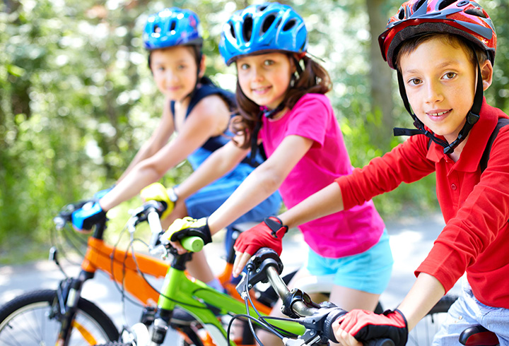 Exercises For Kids - Cycling
