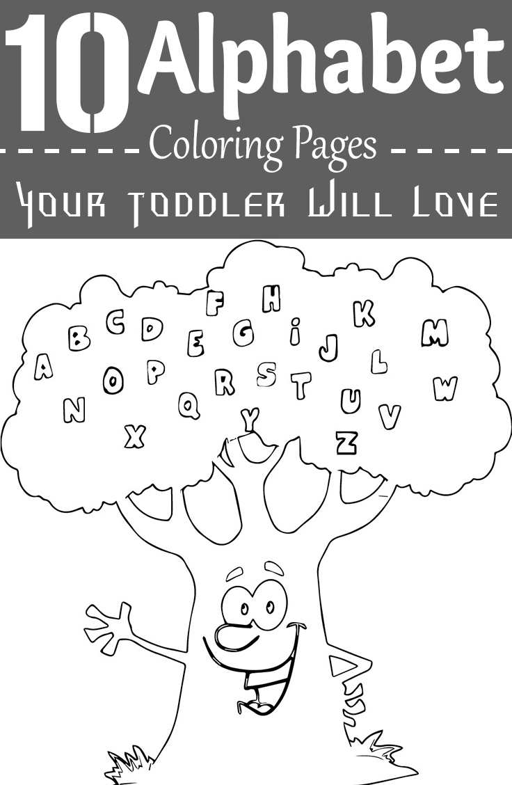 Alphabet coloring pages printable - Alphabet Coloring Pages Printable 9