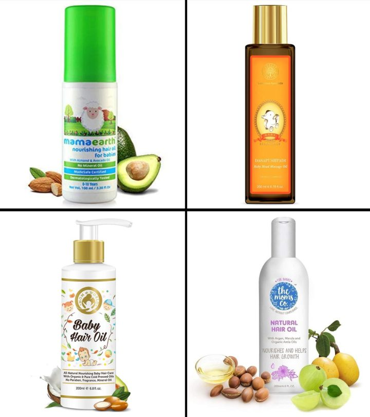 10 Best Baby Hair Oils In India Of 2020