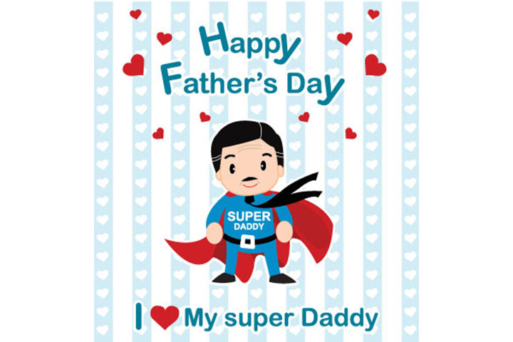 superman cards for your dad
