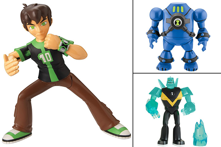 FIGURINES BEN 10 TWIN PACK
