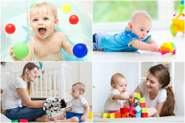 22 learning activities and games for 7 month old baby for Home pictures images