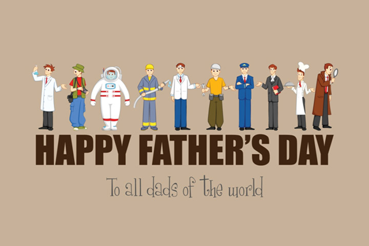 father's day cards based on occupation