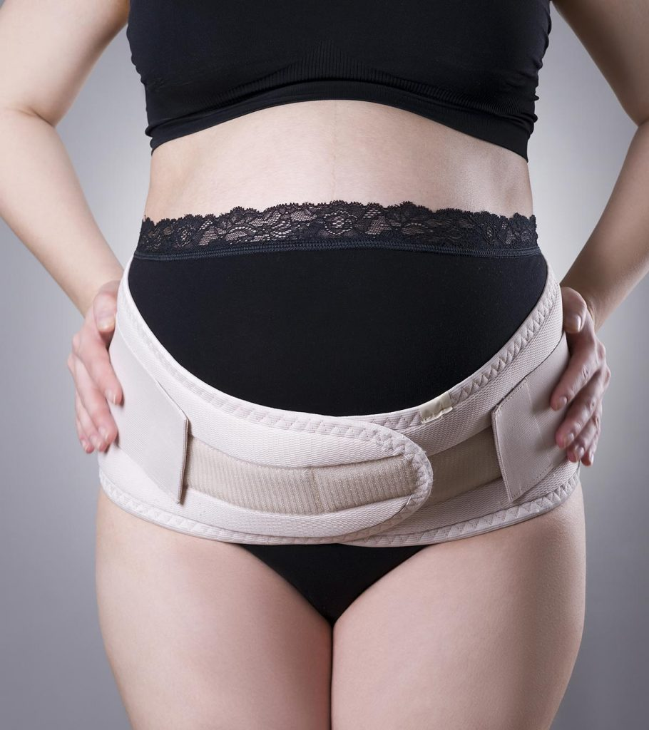 Belly Band for Pregnancy Breathable Lower Back Maternity Support Belt One Size