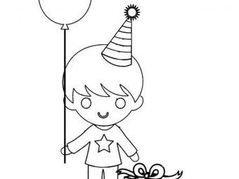 35 Amazing Happy Birthday Coloring Pages Your Toddler Will Love