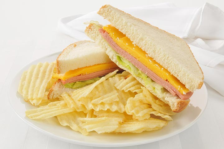 sandwiches and chips