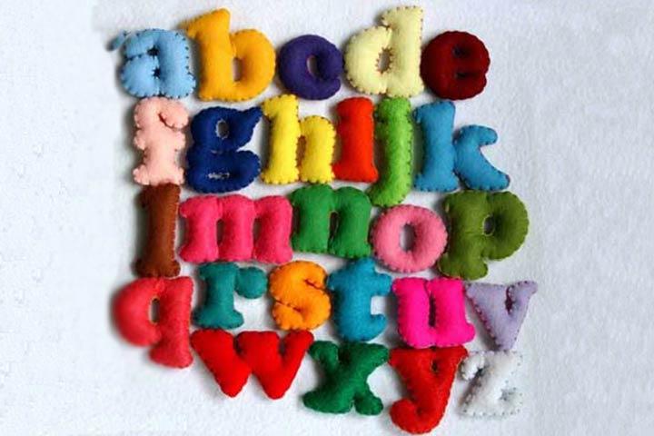 felt alphabets