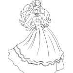 50 Beautiful Barbie Coloring Pages Your Kids Will Love